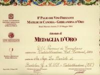 2004 Palio Vini Frizzanti Oro Col Torront
