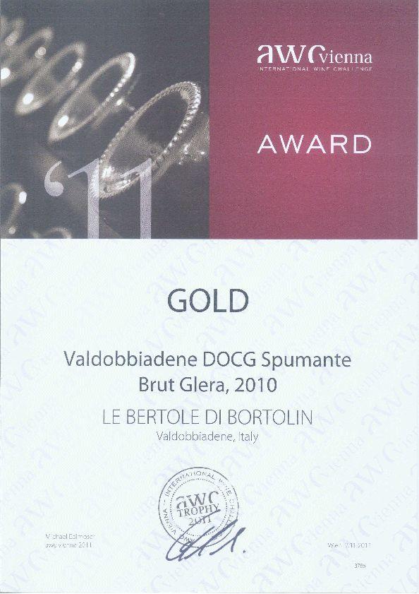 2011 Awc Vienna _argento Valdobbiadene Docg Brut