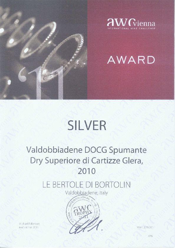 2011 Awc Vienna _argento Valdobbiadene Docg Cartizze