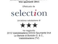 2011 Selection Tre Stelle Valdobbiadene Docg Brut