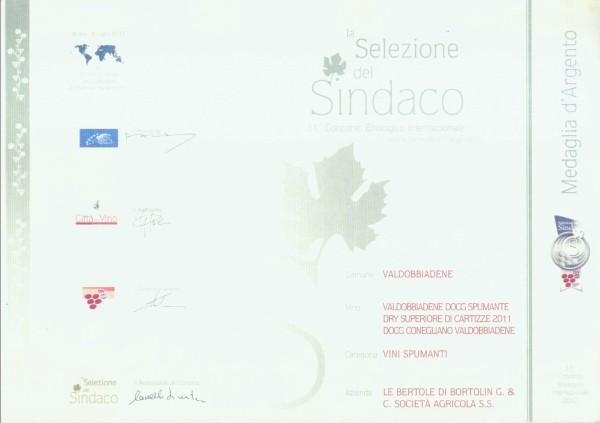 2012 Selezione Sindaco Argento Valdobbiadene Docg Cartizze