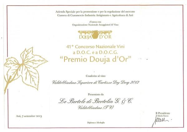 2013 Douja d'Or Valdobbiadene Docg Superiore Cartizze