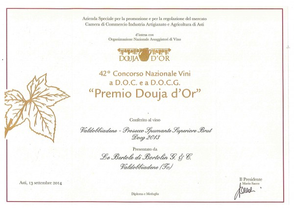 2014 Douja d'Or Brut
