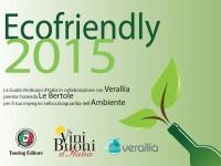 2015 Diploma Ecofriendly Vini Buoni Italia Verallia