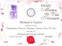 2015 Mostra Vini Triveneti Camalo Argento Extra Dry