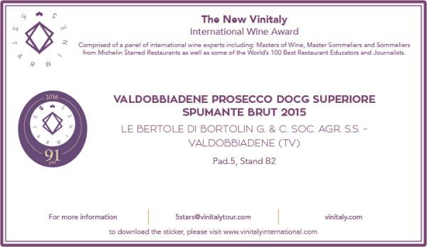 2016 vinitaly BRUT