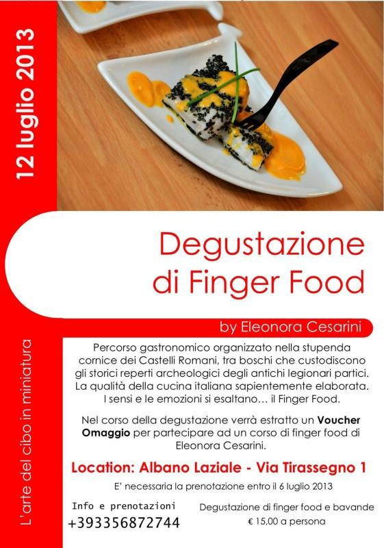 Degustazione Albano Laziale Finger Food 2013