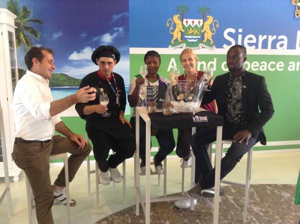 Expo 2015 Visita Le Bertole Sierra Leone 1