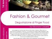 Fashion Gourmet Degustazione Finger Food 2013