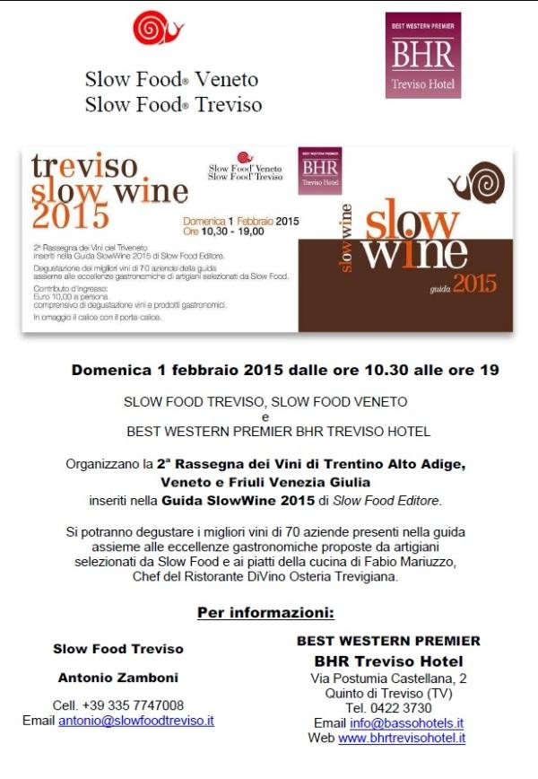Treviso Slow Wine 2015