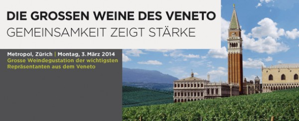 Vinum Workshop Vini Veneti Zurigo 2014