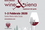 WINE & SIENA – 1, 2, 3 Febbraio